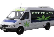 weed tour guide bus